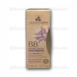 BB Marine Cream Visage Algotherm - 7 en 1 Teint parfait CX Plus AlgoBlanc SPF30 - Tube 30ml
