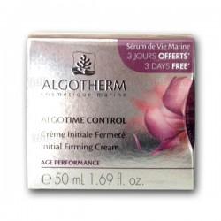 Crème Initiale Fermeté Algotime Control Algotherm (à partir de 25 ans) - Pot 50ml